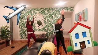 WE'RE MOVING TO LA! APARTMENT SHOPPING | Vlogmas Day 1