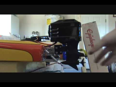 1972 Rc Challenger Boat Outboard Setup Youtube