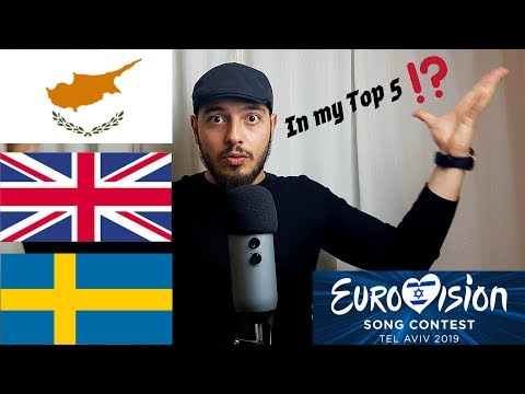Reacting To EUROVISION 2019 - Cyprus, United Kingdom, Sweden!