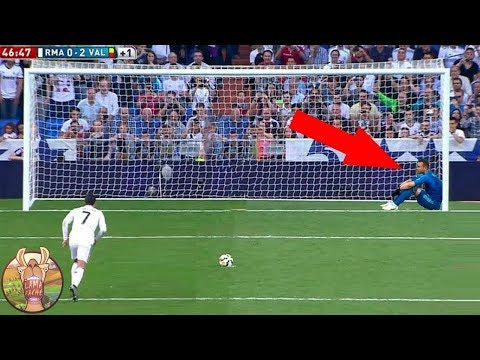 LES 10 PENALTY LES PLUS DRÔLES DE L'HISTOIRE DU FOOTBALL | Lama Faché