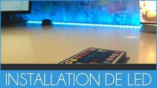 Mettre de la couleur à son SET UP - Bande LED RVB