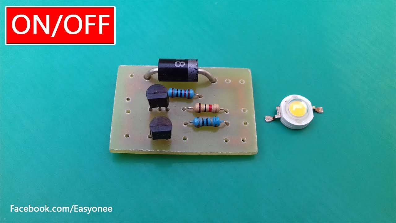 How To Make Emergency Light Automatic On Off Solar Garden Lamp Low Cost Ligh