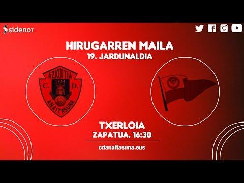 HIRUGARREN MAILA   Anaitasuna 0-0 Santurtzi