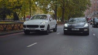 Porsche on demand in central London. Powered by Gett.
