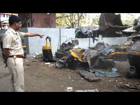 RTO thane Auto rickshaw (scrap) Registration cancellation process