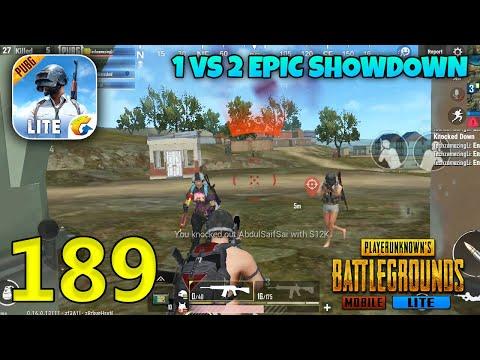 Can I Survive 1 VS 2 Epic Showdown   PUBG Mobile Lite Gameplay