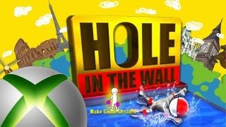 Father and Son Play: Hole in the Wall - Kinect