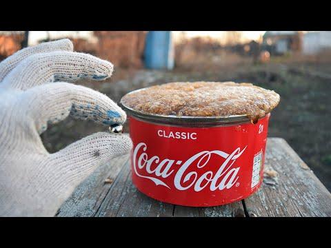 Шарик и кастрюля Coca Cola