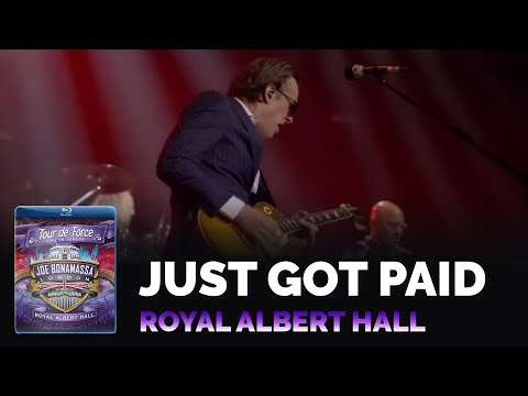 Joe Bonamassa Official - Just Got Paid - Tour de Force Live at the Royal Albert Hall