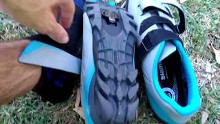 Opinión personal zapatillas de ciclismo MTB Shimano me2