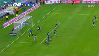 Gol de J. Duque   Atlético Zacatepec 0 - 1 Atlas   Copa MX - Apertura 2018 - Jornada 6  