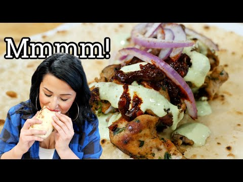 The BEST TACOS ÁRABES | Mexican Arab-style Pork Tacos Recipe + Yogurt Jalapeño Sauce from YouTube · Duration:  14 minutes 5 seconds