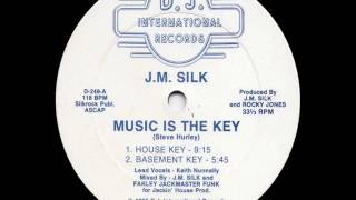 J.M. Silk - Music Is The Key [Basement Key]