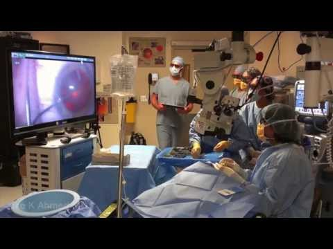 Optical Innovations and 3D Heads-up Surgery for Ophthalmology