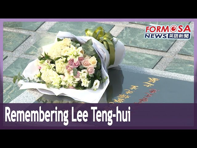 Officials pay tribute to former President Lee Teng-hui one year after his passing