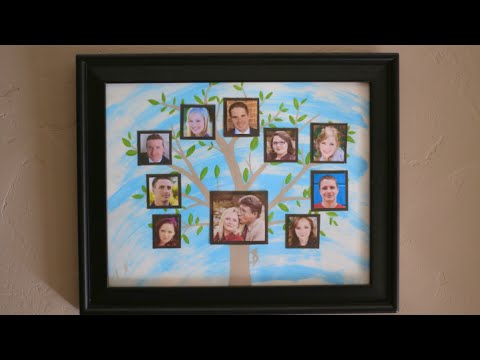 Family Tree Picture! Mother's Day Gift Idea