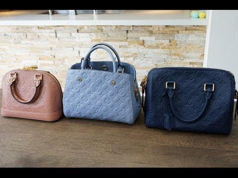 a89b1d2298b6 Louis Vuitton Small Handbag Comparison (speedy 25