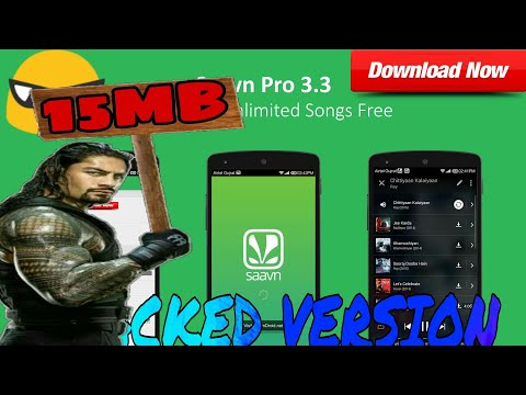 Saavn Pro Apk Cracked || Download Unlimited Songs