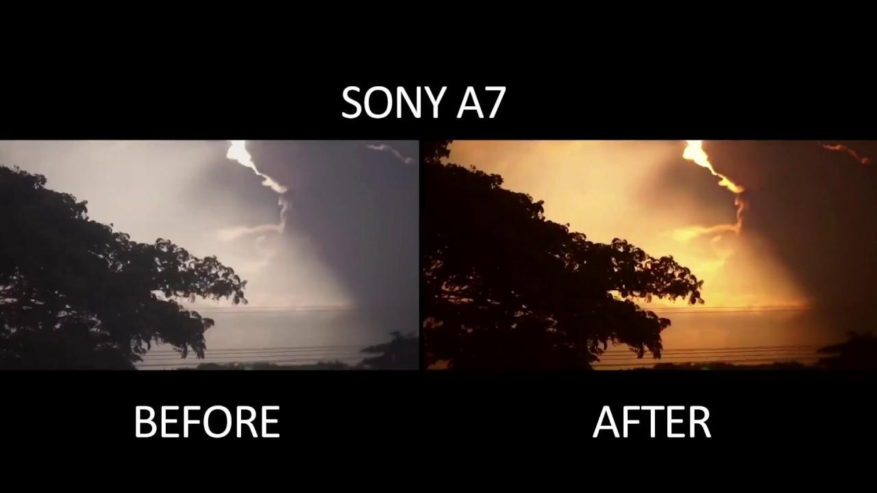 sony a7s raw footage
