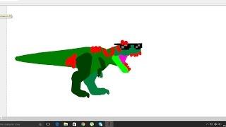 Jurassic Park III Tyrannosaurus Rex vs Spinosaurus Aegyptiacus, t rex wins
