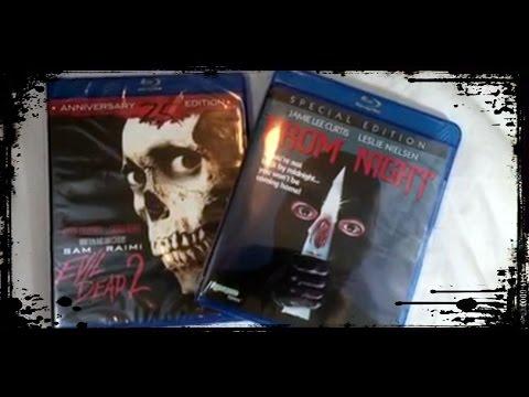 Horror Movie BluRay Pickups DVD Prom Night & Evil Dead 2