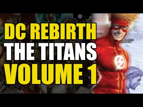Titans Rebirth Vol 1: Dr. Manhattan?