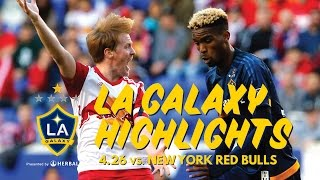 HIGHLIGHTS: LA Galaxy at New York Red Bulls | April 26th, 2015