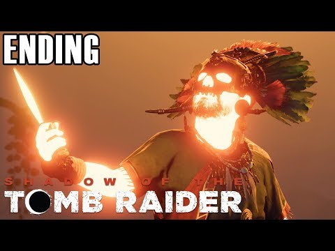 NENG LARA MELAWAN DEWA!  Shadow of the Tomb Raider Indonesia  Ending