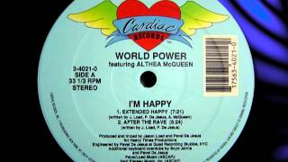 "WORLD POWER feat ALTHEA McQUEEN    "" I"