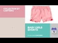Baby Girls Shorts Collection By Carter's