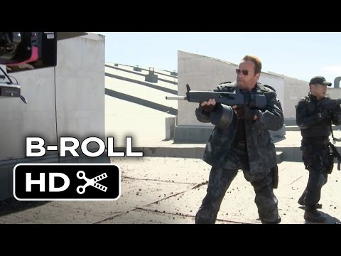 The Expendables 3 B-ROLL (2014) - Arnold Schwarzenegger, Sylvester Stallone Movie HD streaming vf