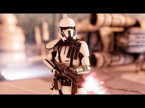 Star Wars Battlefront 2 - Ghost Trooper Skin Gameplay | Death Trooper Skin Mod