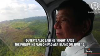 PH security officials visit disputed island in West PH Sea