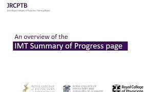 IMT Summary of Progress