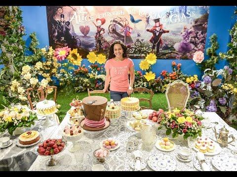 Yolanda Gampp on her Mad Hatter cake for #AliceOnQueen pop-up