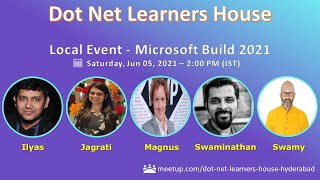 Local Event - Microsoft Build 2021 - Dot Net Learners House