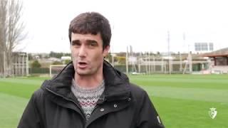 Sergio Amatriain | Previa Arenas Club - Osasuna Promesas