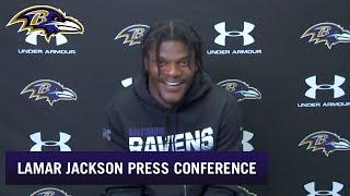 Lamar Jackson, Marlon Humphrey, Bradley Bozeman Pressers | Baltimore Ravens
