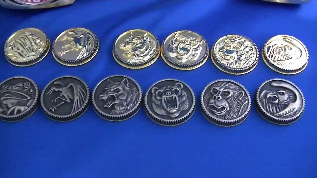 Starlight Studio Prop Ninja Coins Gold and Weathered Legacy Morpher 1 24 14