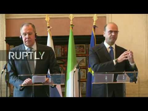 LIVE: Lavrov holds joint press conference with Italian FM