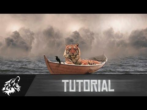 Photoshop Tutorial | Tiger on Boat | Photo Manipulation
