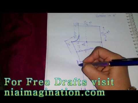Palazzo pant कैसे नापे, काटे in Hindi | How to measure, cut thumbnail