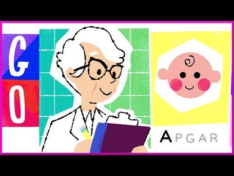 Dr. Virginia Apgar Google Doodle