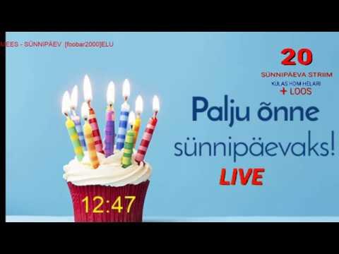 #Sünnipäeva Live