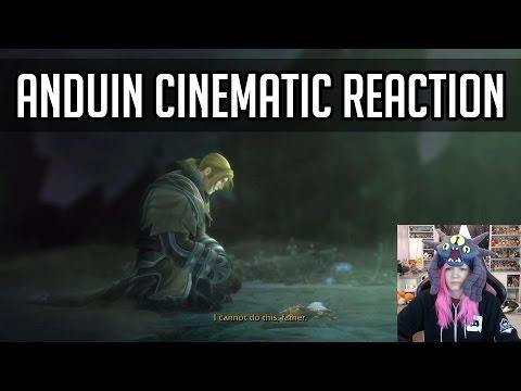 FEELING SAD FOR THE ALLIANCE   King Anduin Wrynn Cinematic Reaction