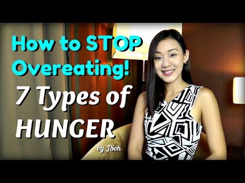 How to STOP Overeating: 7 Types of HUNGER