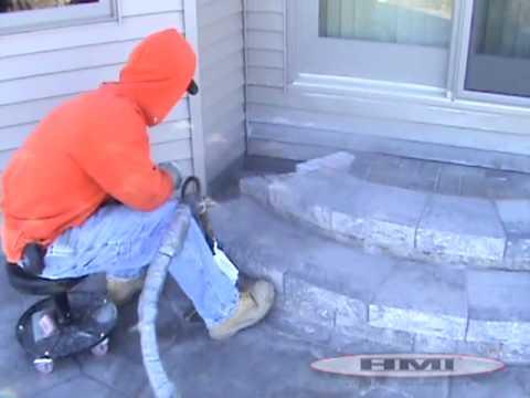 Lifting A Sunken Concrete Driveway Slab Diy Funnydog Tv
