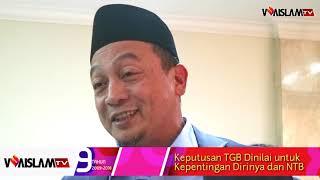 TGB Dukung Jokowi, Ini Respon Ustaz Bachtiar Nasir