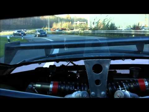 9ff GT9R Rear Suspension at Work