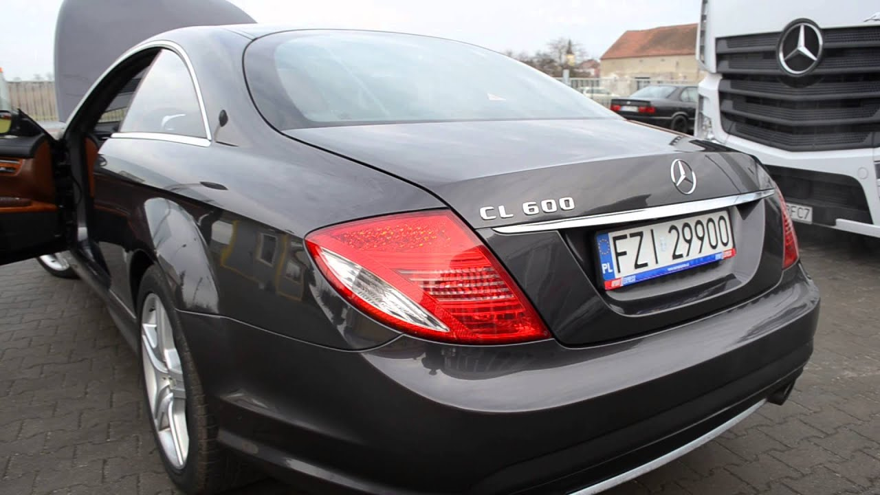 Mb mercedes benz cl600 w216 2007r for sale youtube for Mercedes benz cl600 for sale